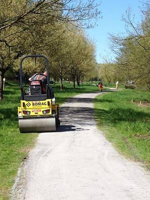 Heppenheim: Instandsetzung der Spazierwege am Bruchsee