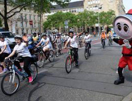 Mannheim: 350 Schüler auf den Spuren von Karl Drais