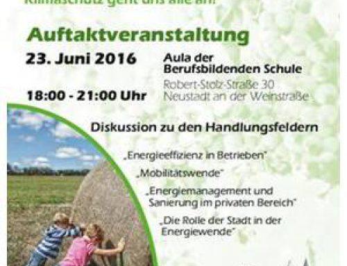 1. Klimaschutzkonferenz: Neustadt diskutiert lokalen Klimaschutz