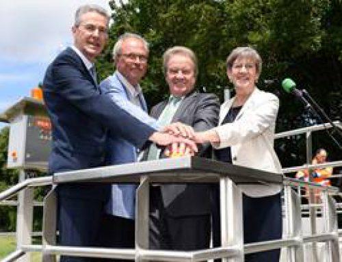 Mannheim: Umweltminister Untersteller gab Startschuss für Pulveraktivkohle-Anlage