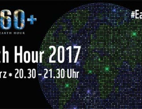 """Ludwigshafen beteiligt sich an der """"Earth Hour 2017"""""""
